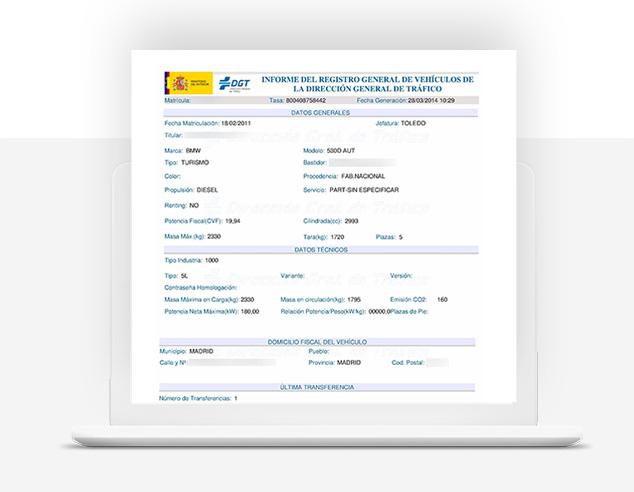 solicitud informe trafico - informes trafico